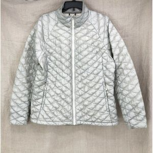 THE NORTH FACE Silver Thermoball Puffer Jacket
